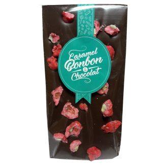 tablette chocolat lait praline rose Caramel Bonbon & Chocolat