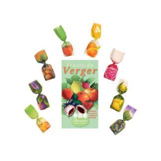 bonbon aux fruits du verger