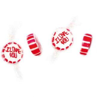 bonbon rock I love you fraise