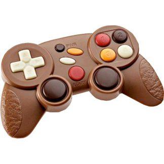 manette de jeux en chocolat