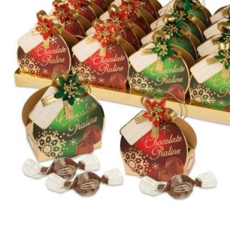 boule noel chocolat